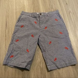 Brooks brothers fleece, cotton lobster shorts 14